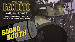 SJC Custom Drums - Josh Dun Banditø Kit! - Soundbooth with the Trench Camo snare!