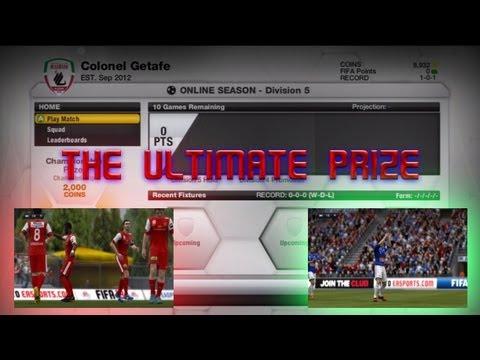 Fifa 13 division prizes