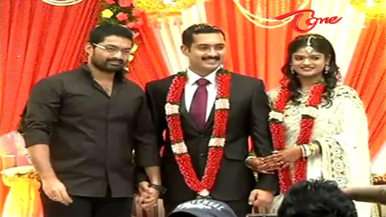 Uday Kiran Visheeta Wedding Reception Video Youtube