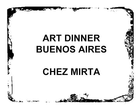 Art Dinner Buenos Aires - Chez Mirta - Eatwith