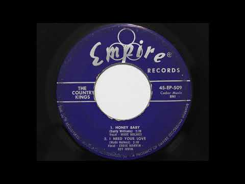 Wade Holmes with The Country Kings - Honey Baby (Empire 509)