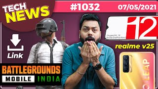 Battlegrounds Mobile India Download Link😒, Mi Pad 5, OxygenOS 12 Features, Galaxy M42 5G-#TTN1032