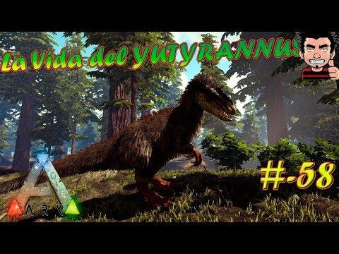 ARK Survival Evolved La vida del Yutyrannus una bestia nueva puebla ARK gameplay español