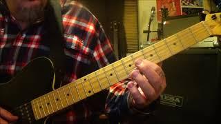 ACDC Satellite Blues Guitar Lesson  Tutorial