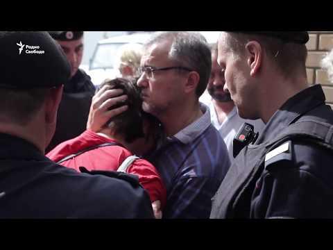 Задержание Юлии Галяминой