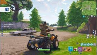 Fortnite Battle Royale DRIVE TROUGH SHELF GLITCH | PS4