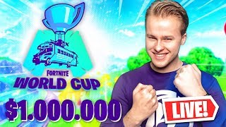 LIVE FORTNITE WORLD CUP $1.000.000 TOURNAMENT!! - Royalistiq Fortnite Livestream (Nederlands)