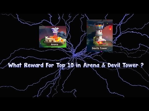 Hyper Heroes What Reward For Top 10 In Arena & Devil Tower