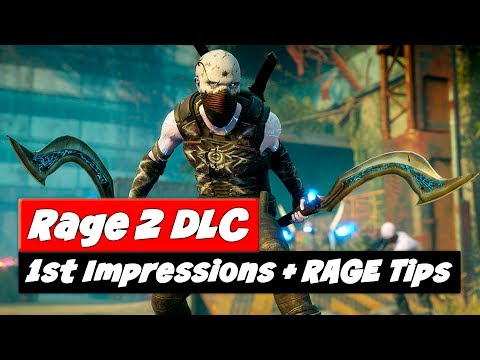 RAGE 2 Rise of Ghosts | First Impressions + Gameplay Tips
