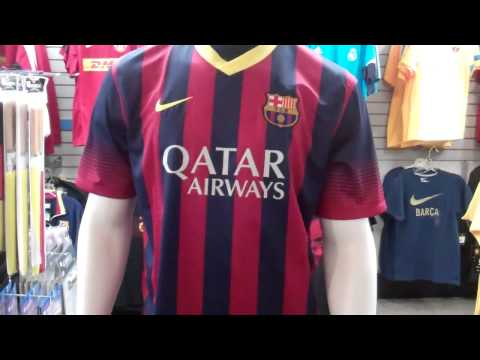 Barcelona 2013-2014 Home Jersey
