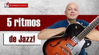 5 patrones de ritmo sencillos para tocar Jazz en guitarra