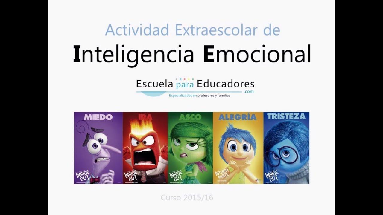 Actividad Extraescolar de Inteligencia Emocional - YouTube