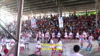 Majorette Exhibition 2014 Araw Ng Sarangani - Alberto Olarte Sr. National High School