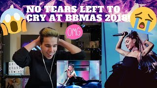 Ariana Grande - No Tears Left To Cry (Billboard Music Awards 2018) | REACTION (ICONIC)