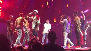 Chris Brown brings out Young Thug, Migos, Fetty Wap, Kid Ink, Lil Kim & Monica in Atlanta