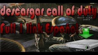 Descargar Call of Duty 1 Link en Español para PC [HD]