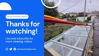 Sun Room Roof Glass Cleaning PVC Cleaning Unger Hydropower DI Systems Pure Water UBIK2000