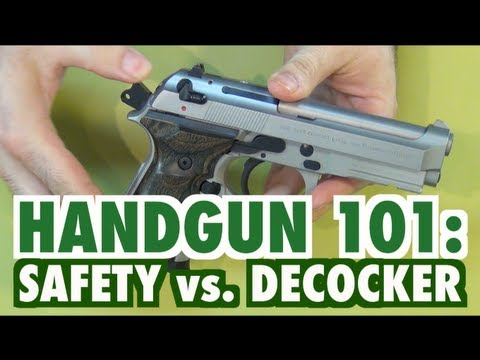 Handgun 101: Safety vs. Decocker