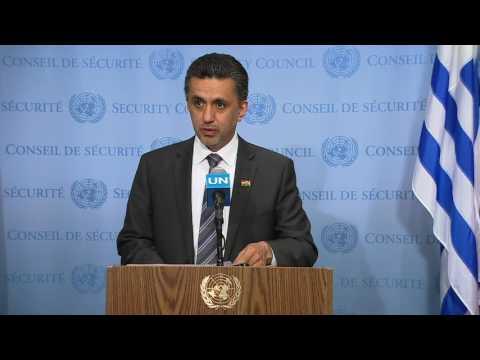 SC President, Sacha Sergio Llorentty Solíz (Bolivia) on Burundi- SC Media Stakeout (20 June 2017)