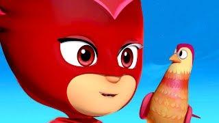 Герои в масках PJ Masks Герои в масках животные | 30 минут | мультики для детей