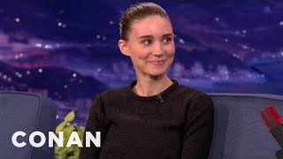 "Rooney Mara Wore A Merkin In ""The Girl With The Dragon Tattoo"" - CONAN on TBS"