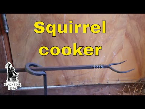 Squirrel Cooker For Cooking Over The Camp Fire (you Don't Have To Cook A Squirrel)