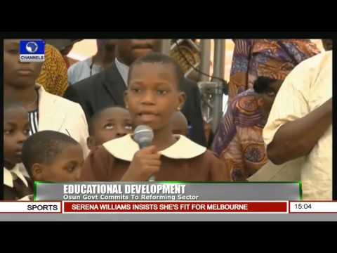 News Across Nigeria: Osun State Governor Commissions School