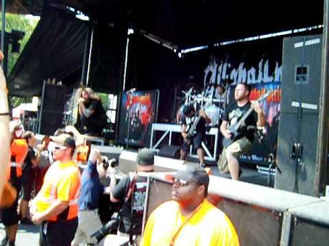 All Shall Perish-Wage Slaves-Live At Mayhem Festival 2011 (Good Audio)