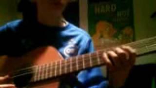 Dreng som spiller godt guitar