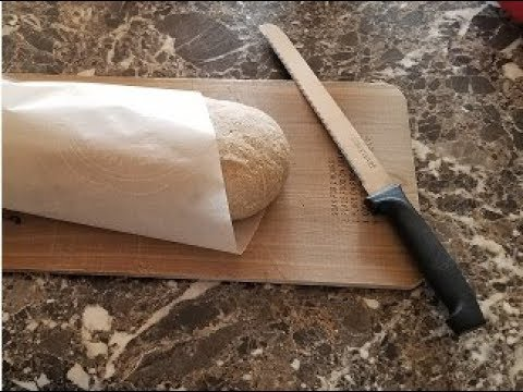 Healthy Ciabatta Bread from Organic Sprouted Flour