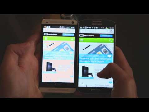 LCD mi Yoksa AMOLED mi? HTC One vs Galaxy S4 Ekran Karşılaştırması