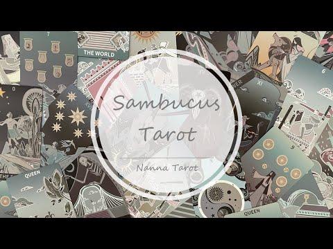 開箱  接骨木塔羅牌-經典版 • Sambucus Tarot // Nanna Tarot