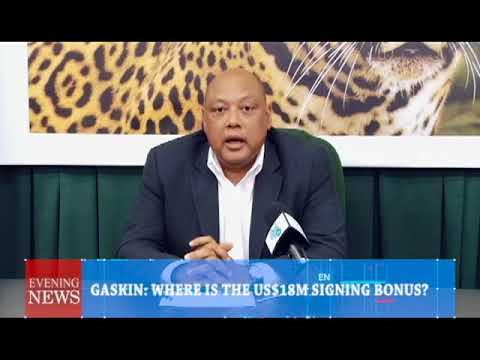 GASKIN WHERE IS THE US$18M SIGNING BONUS