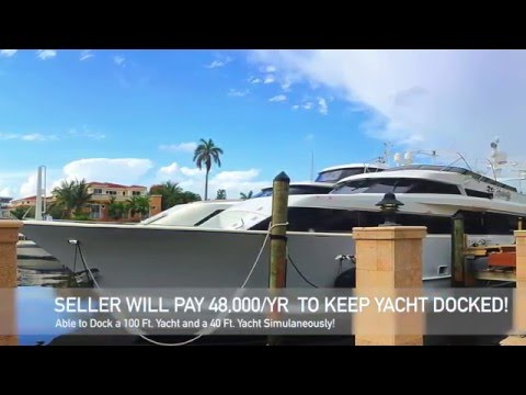 Fort Lauderdale Intracoastal Home for Sale | 1271 Seminole Dr. Fort Lauderdale FL