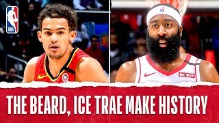 Trae Young, James Harden Duel With 40-PT Triple Doubles!