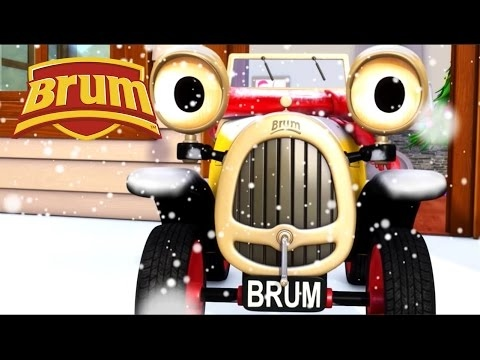 ★ Brum ★ 🎅 CHRISTMAS COMPILATION 🎅 The Letter To Santa & The New Reindeer | KIDS SHOW FULL EPISODE