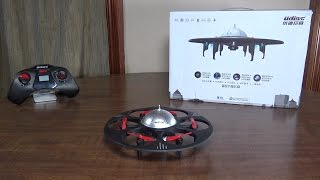 UDI R/C - U945A (Hexacopter UFO) - Review and Flight