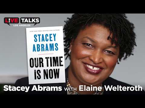 Stacey Abrams in conversation with Elaine Welteroth at Live Talks Los Angeles
