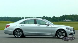 Driving the Mercedes S Class & Mercedes S550 Plug In Hybrid Preview