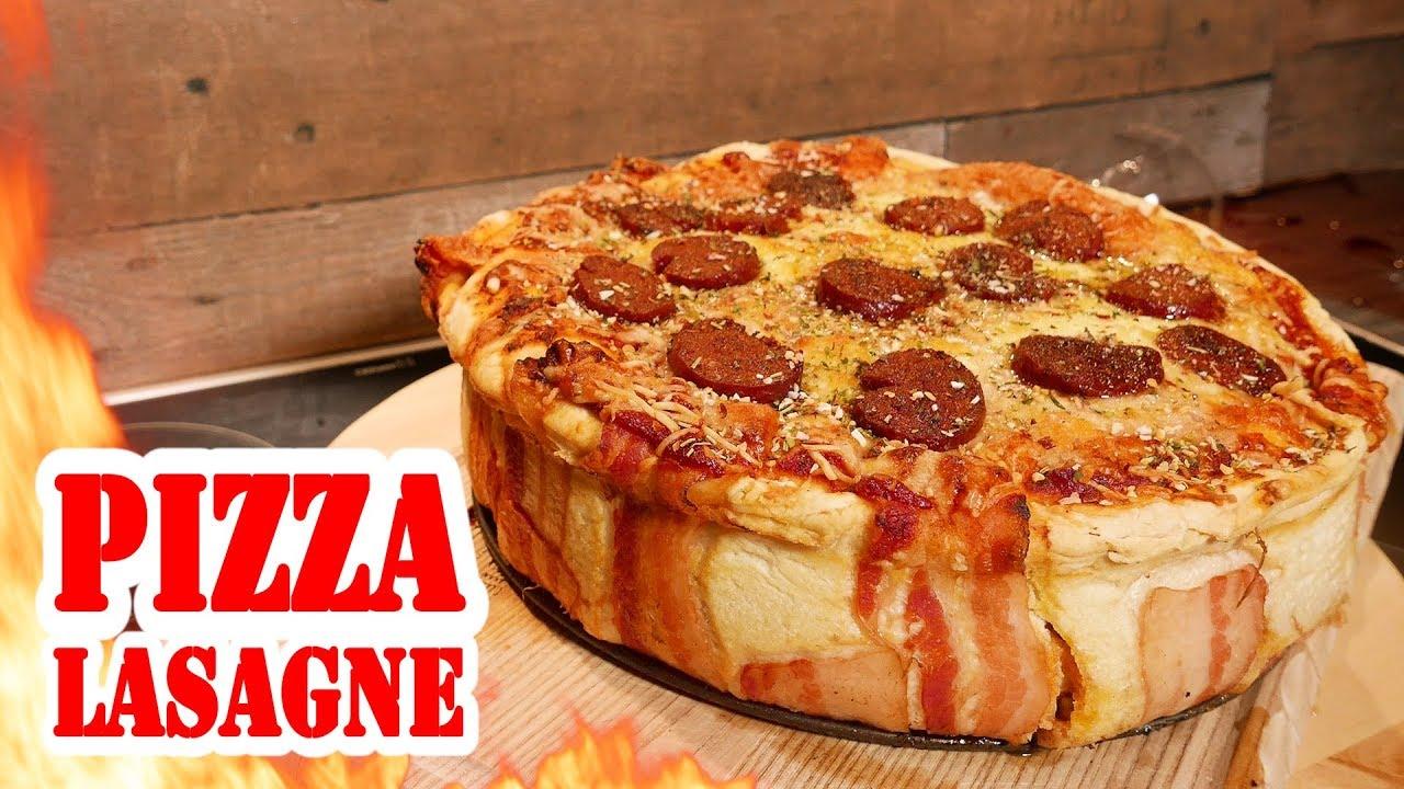 Pizza Lasagne Pizzagne 4 Kilo Bbq Grill Rezept Video Die