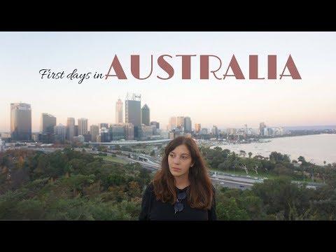 Perth First Impressions (Australian Vlog Nr1 )