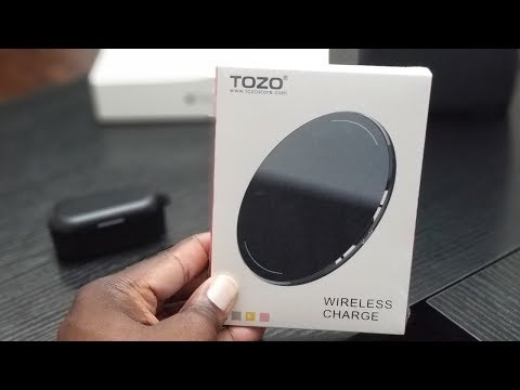 TOZO Wireless Charger Unboxing and Review