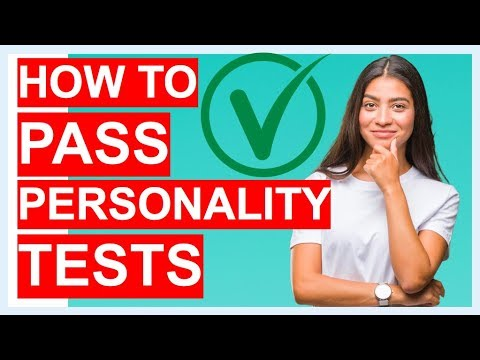 HOW TO PASS PERSONALITY TESTS! (Career Personality Test Questions & Answers!)