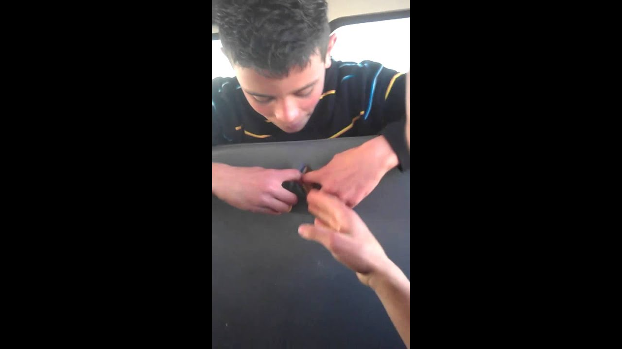 Fingering On Bus