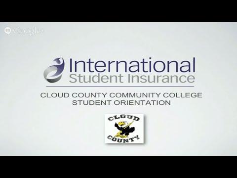 International Student Insurance Orientation for CCCC