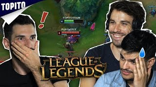 NOSTRO & FRANÇOIS DÉCOUVRENT LEAGUE OF LEGENDS - feat Shaunz
