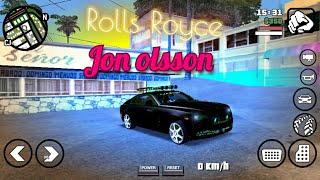 Rolls Royce Jon Olsson  Wraith mod   For GTA SA android   Only 9 mb  