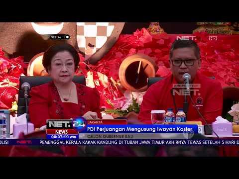 PDIP Umumkan Kandidat Cagub-Cawagub Pilkada Bali - NET24