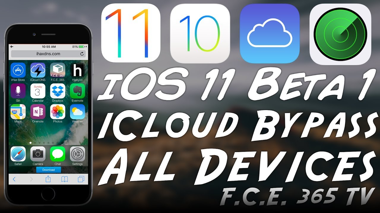 iOS 11 / 10 3 2 iCloud Activation DNS Bypass (All Devices) with iHax DNS /  DNS Bypass