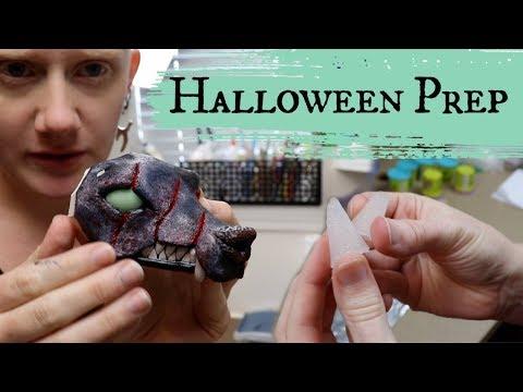 More Halloween Creatures || Artist Vlog 2